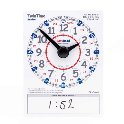 Time teaching student card
