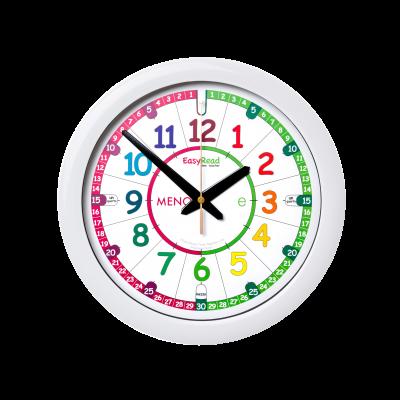 Italian time teaching wall clock