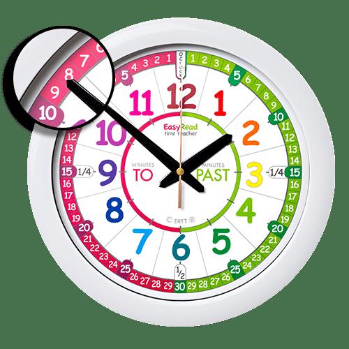 Past & to time teacher clock