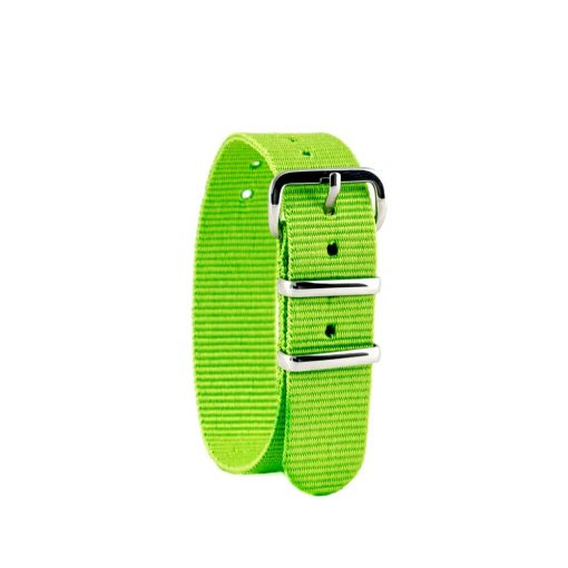 Lime children's watch strap