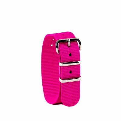 Pink children's watch strap