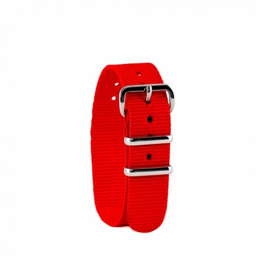 Red children's watch strap