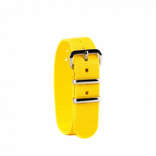 Yellow children's watch strap