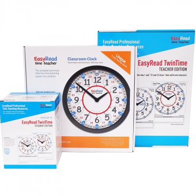 Time teacher classroom clock and teaching aids