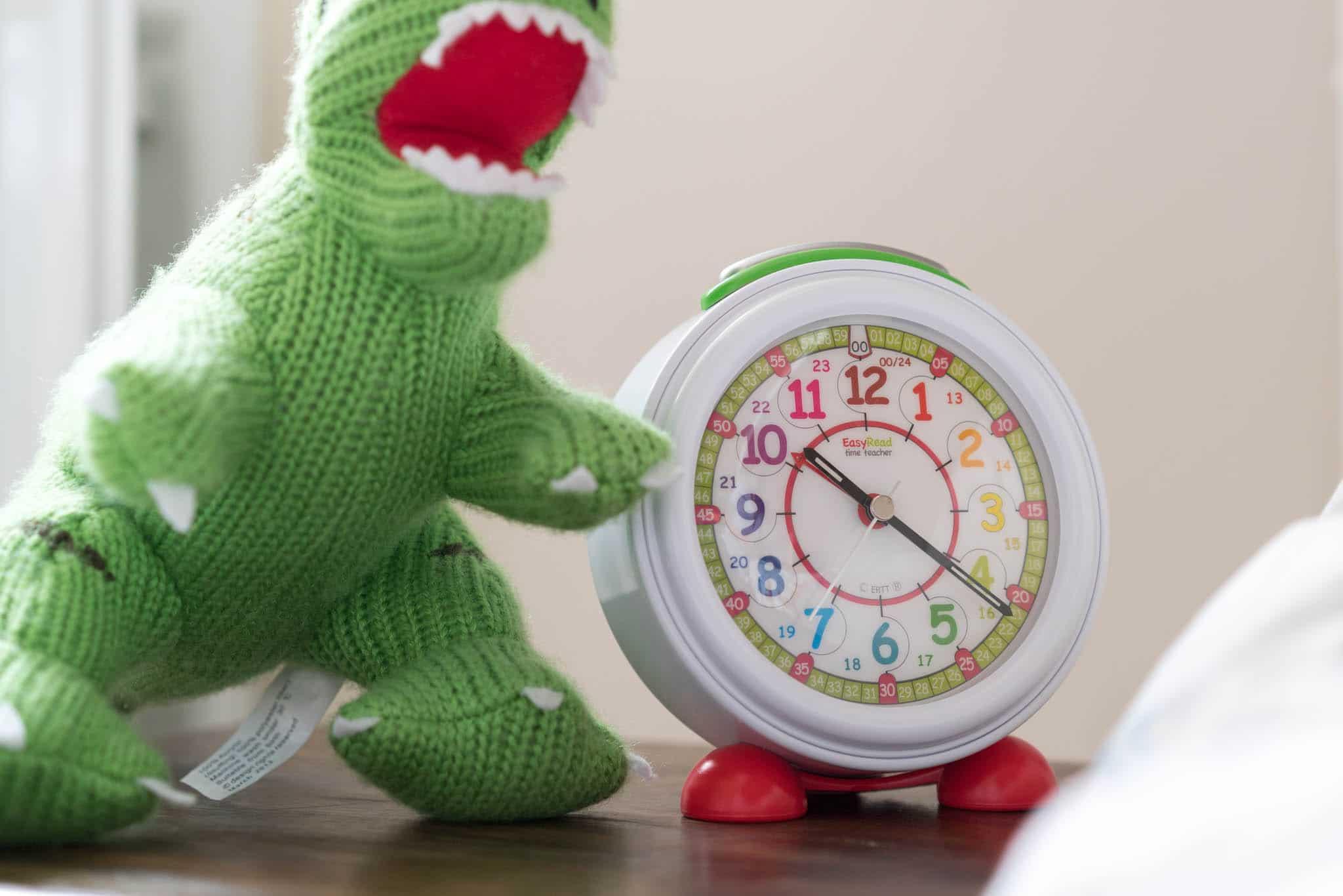 Alarm Clock Rainbow Face 24 Hour Easyread Time Teacher