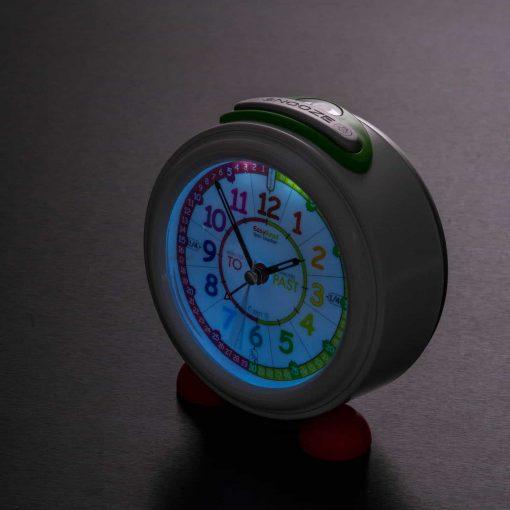 Alarm clock for children with night light