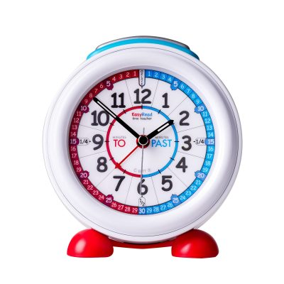 Children's alarm clock that teaches the time