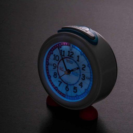 Child's alarm clock night light