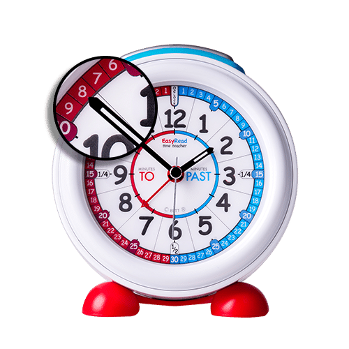 Red White Blue alarm clock