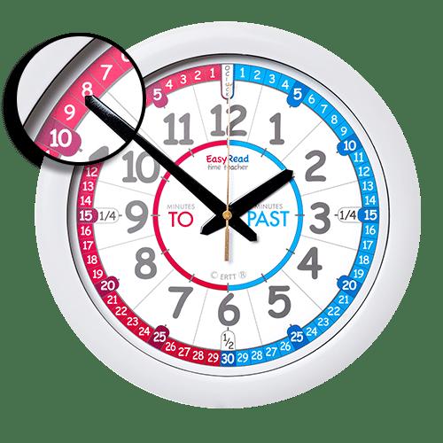 Children's time teacher wall clock