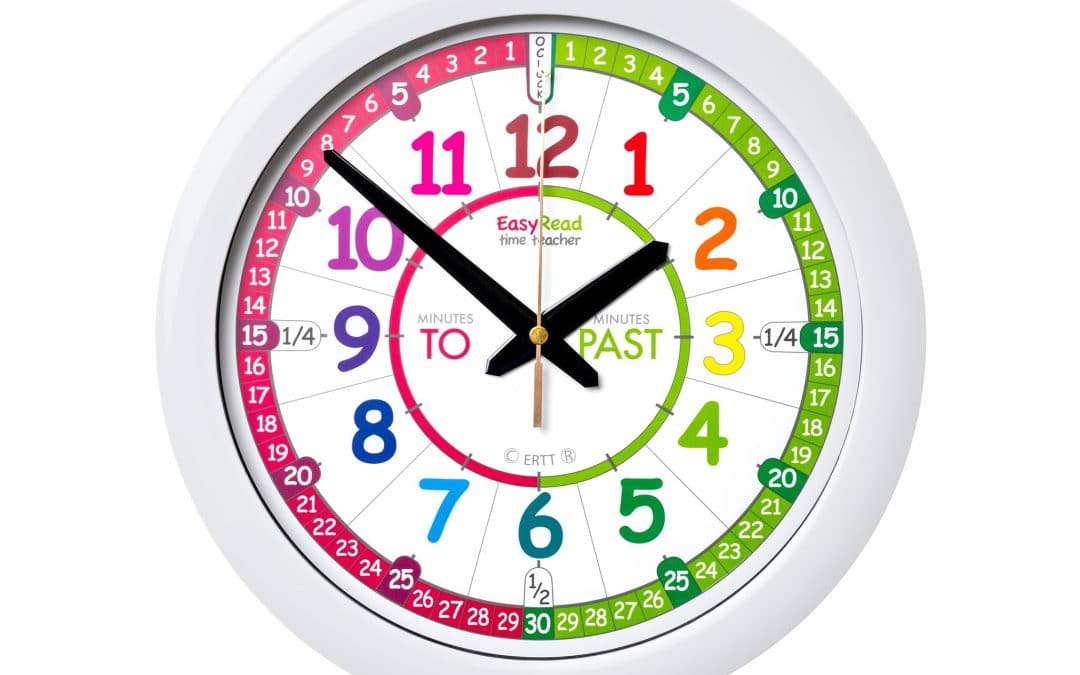 Learning to Tell the Time with our Most Popular Time Teaching Clock