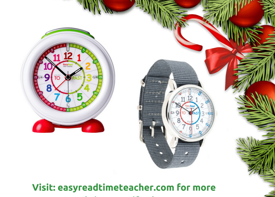 Why A Time Teaching Clock is the perfect Christmas present