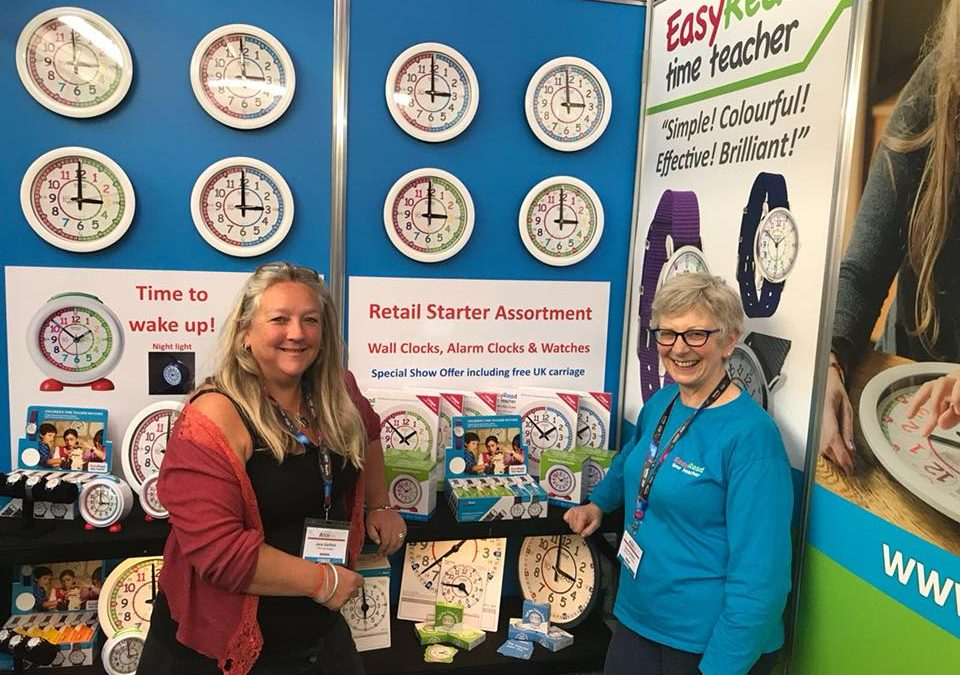 Thumbs Up to Time Teaching at the Toy Fair