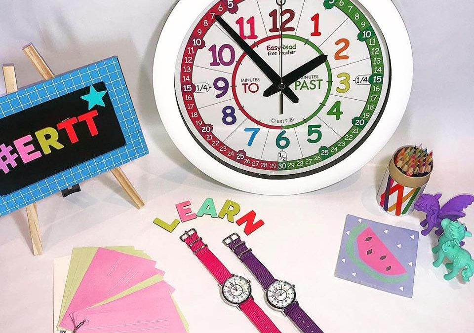 Time telling assistance for dyslexic children