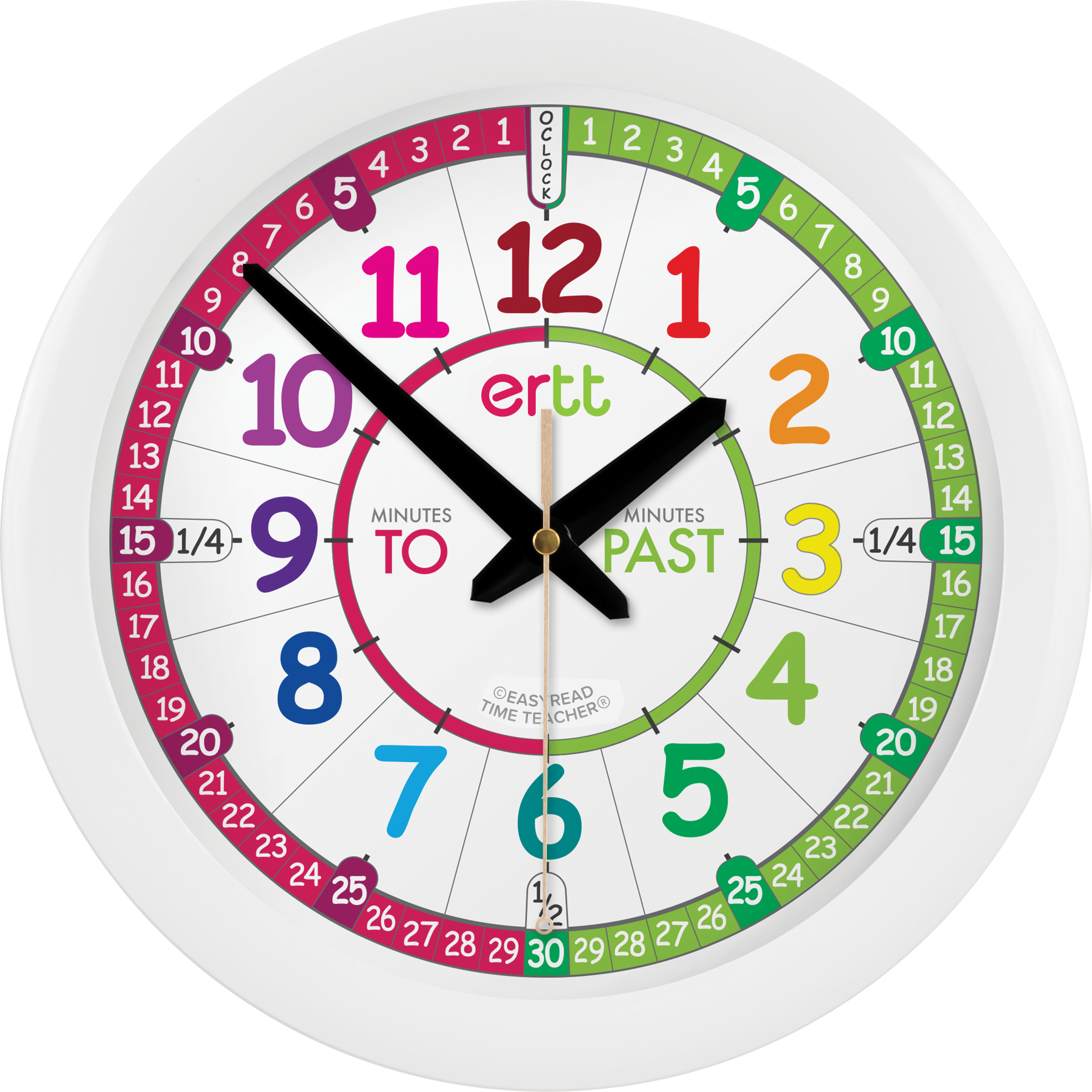 EasyRead Time Teacher | How To Tell The Time in Simple Steps