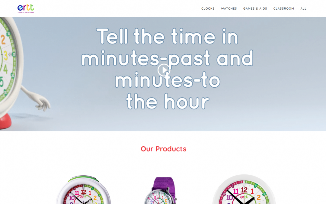 EasyRead Time Teacher Launch New Website