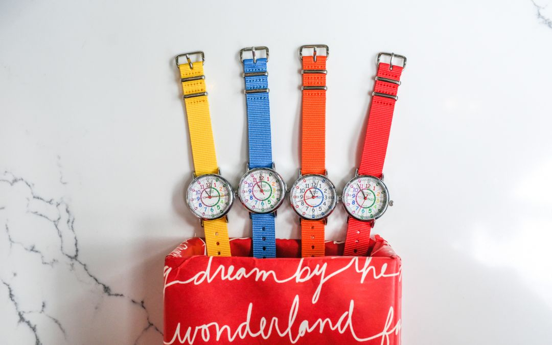 Time Teaching Watches: The Ideal Christmas Gift for Children