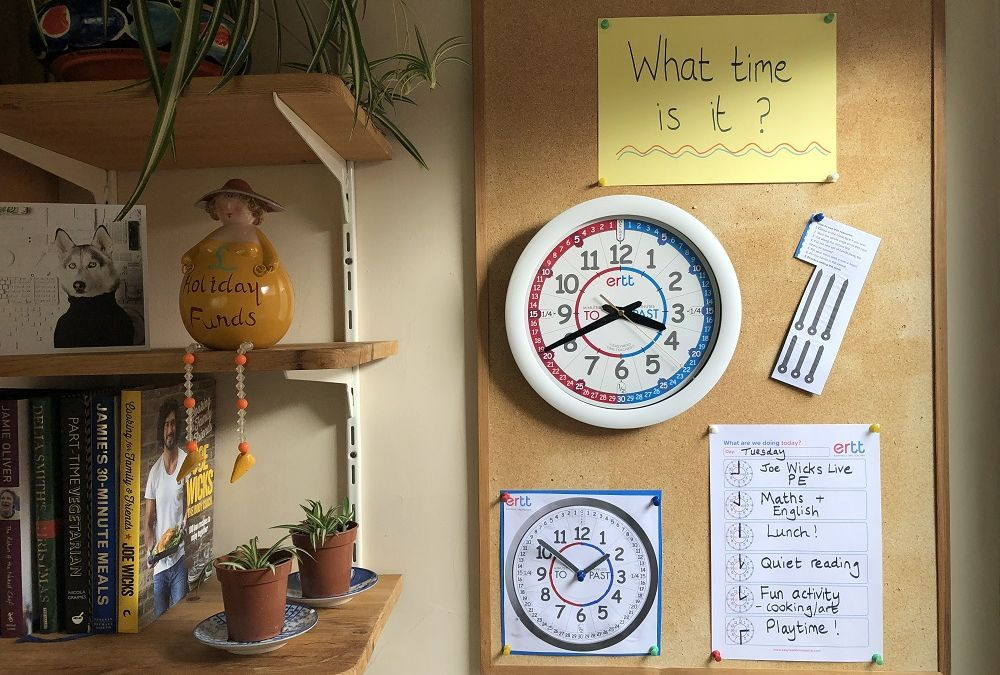 Home Schooling? Try Tackling Time Teaching