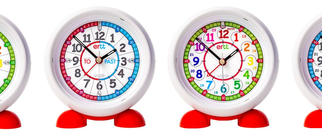 Introducing our brand new time teaching alarm clocks