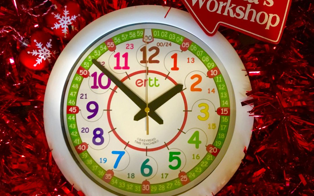 Why a teaching time clock should be on your child's Christmas list